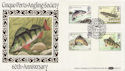 1983-01-26 River Fish Stamps Hythe FDC (57696)
