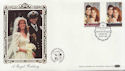1986-07-22 Royal Wedding Stamps London SW1 FDC (57700)