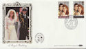 1986-07-22 Royal Wedding Stamps Oxford FDC (57702)