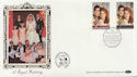 1986-07-22 Royal Wedding Stamps Bureau FDC (57705)