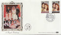 1986-07-22 Royal Wedding Stamps Windsor FDC (57707)