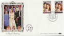 1986-07-22 Royal Wedding Stamps London SE1 FDC (57708)