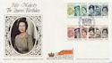 1986-04-21 Queen's 60th Birthday Stamps Windsor FDC (57714)