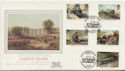1985-01-22 Famous Trains Stamps Hendon BF 1857 PS FDC (57722)