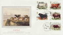 1984-03-06 British Cattle Stamps Oban Argyll FDC (57724)