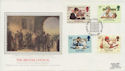 1984-09-25 The British Council London SW Silk FDC (57741)