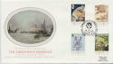 1984-06-26 Greenwich Meridian London W14 FDC (57753)