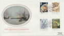 1984-06-26 Greenwich Meridian London W1 FDC (57759)