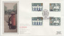 1984-05-15 Europa Stamps Dover Silk FDC (57760)