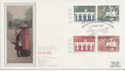 1984-05-15 Europa Stamps Cylinder Margin Silk FDC (57761)