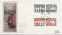 1984-05-15 Europa Stamps London SW1 Silk FDC (57762)