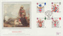 1984-01-17 Heraldry Stamps British Forces 1826 FDC (57776)