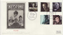 1985-10-08 British Films Stamps Leicester Sq FDC (57787)