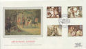1985-09-03 Arthurian Legend Stamps Tintagel FDC (57798)