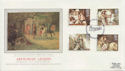 1985-09-03 Arthurian Legend Stamps Winchester FDC (57799)