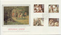 1985-09-03 Arthurian Legend Stamps Lords SW1 cds FDC (57807)