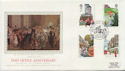 1985-07-30 Royal Mail 350th London EC1 FDC (57809)