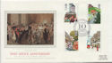 1985-07-30 Royal Mail 350th 10 Downing St FDC (57811)