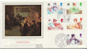 1985-11-19 Christmas Stamps Chingford London FDC (57848)