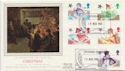 1985-11-19 Christmas Stamps Telecom London FDC (57850)