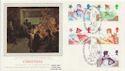 1985-11-19 Christmas Stamps Goose Green FDC (57851)