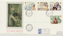 1987-09-08 Victorian Britain Queen Victoria Road cds FDC (57888)