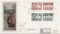 1984-05-15 Europa Stamps Parliament St cds FDC (57900)