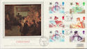 1985-11-19 Christmas Stamps Star Glenrothes cds FDC (57902)