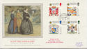 1987-07-21 Scottish Heraldry Stamps Lords SW1 cds FDC (57913)