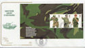 2007-09-20 British Army Uniforms Pane Belfast FDC (57927)