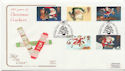 1997-10-27 Christmas Crackers Trafalgar Sq FDC (57975)