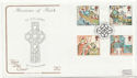 1997-03-11 Missions of Faith Isle of Iona FDC (57981)