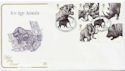 2006-03-21 Ice Age Animals Stamps Ilford FDC (58048)