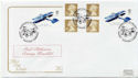 2003-09-18 Transports of Delight S/A Booklet Duxford FDC (58094)