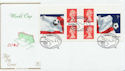 2002-05-21 World Cup Football Booklet Stamps FDC (58108)