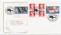 2001-10-22 Flags & Ensigns Booklet Stamps SE10 FDC (58124)