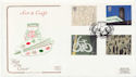 2000-05-02 Art and Craft Stamps Stoke FDC (58155)