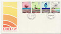 1978-01-25 Energy Stamps Basingstoke FDC (58223)