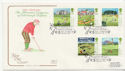 1994-07-05 Golf Stamps Troon FDC (58260)