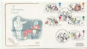1993-11-09 Christmas Stamps Pickwick FDC (58268)