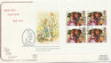 1993-08-10 Beatrix Potter Full Pane Kensington FDC (58272)