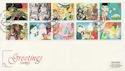1993-02-02 Greetings Stamps Manchester FDC (58278)