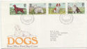 1979-02-07 Dogs Stamps Bureau FDC (58292)