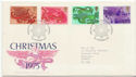 1975-11-26 Christmas Angels Bureau FDC (58303)