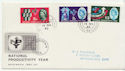 1962-11-14 National Productivity London cds FDC (58318)