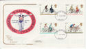 1978-08-02 Cycling Stamps Bristol FDC (58425)