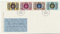 1977-05-11 Silver Jubilee Stamps Windsor FDC (58438)