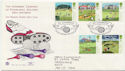 1994-07-05 Golf Stamps St Andrews Fife FDC (58449)