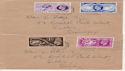 1949-10-10 Universal Postal Union London x2 FDC (58515)