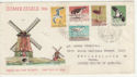 1961 Netherlands Bird Stamps FDC (58561)